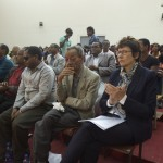 Audience at Addis University event.